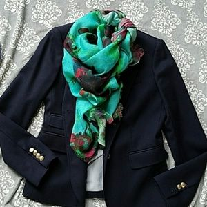 Colorful J Crew Scarf//Gorgeous!!